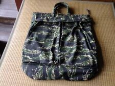 Vintage Tiger Stripe Camouflage Flyer Pilot Helmet Bag Reproduction