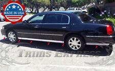 "2003-2011 Lincoln Town Car""L""Lower Rocker Panel Body Side Trim Molding Accent-FL"