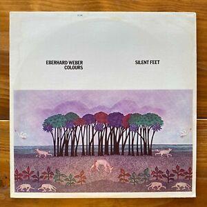 Eberhard Weber Colours– Silent Feet - Modern Jazz Vinyl LP – Charlie Mariano -OG