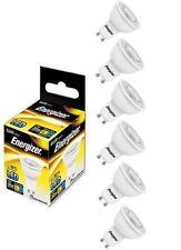 6x Energizer GU10 LED Light Bulb 250lm Spot 3.6W=35W Warm White 3000k 36°