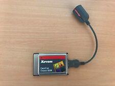 Xircom PCMCIA Credit Card Adaptor with LAN Dongle