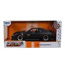 Jada Bigtime Muscle Series: 1989 Ford Mustang GT (Black) 1/24 Scale