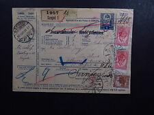 Paketkarte Bulletin d'Expedition Hungary Magyarország Szeged Budapest 1928