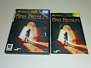 arx fatalis game pal microsoft xbox complete