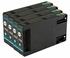 4 Cyan T7022 non-OEM Ink Cartridge For Epson Pro WP-4525DNF WP-4535DWF