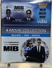 Men In Black International Blu-Ray + Dvd+ Digital + Mib Trilogy Digital on Vudu