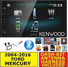 04-16 FORD F & E SERIES JVC-KENWOOD SCREEN MIRROR BLUETOOH USB RADIO STEREO PKG