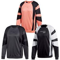 Adidas Originals Womens Trefoil Crew Sweat Sweatshirt Jumper ...