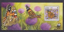 UMM MNH STAMP SHEET 2005 IRELAND EIRE WWF BUTTERFLIES SG MS1744