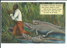New Listing Postcard Black Americana Florida