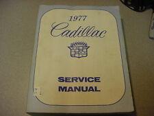 1977 ORG Cadillac  Shop Manual