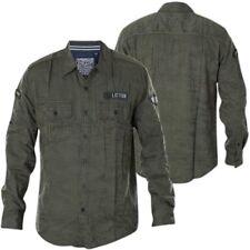 AFFLICTION Mens Embroidered Button Down Shirt TOP NOTCH Biker BKE Roar $88