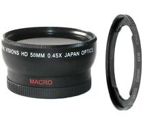 58mm Wide Angle Lens for Canon PowerShot SX540 SX50 SX40 HS SX30 SX20 SX10 IS