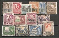 Kenya Uganda Tanganyika KUT 1954 QEII Set Mint Hinged
