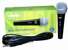 Shure SV100-W Dynamic Microphone Black