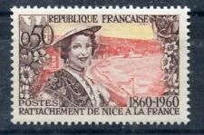 STAMP / TIMBRE FRANCE NEUF N° 1247 ** RATTACHEMENT DE NICE A LA FRANCE MNH