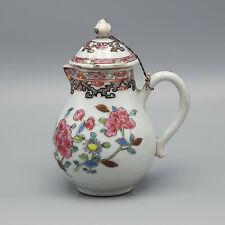 18th Century Yongzheng Chinese Export Famille Rose Creamer