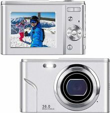 IEBRT Ultra HD Digital Camera,1080P Mini Kid Vlogging Camera Video Camera LCD Sc