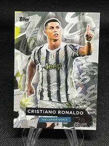 2021 Topps Cristiano Ronaldo –Greatest Goalscorer of ALL TIME - SHORT PRINT