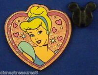 Cinderella Sparkle Princess Heart Disney Pin # 23213