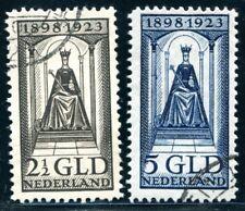 NIEDERLANDE 1923 132-133 gestempelt sehr schön HÖCHSTWERTE 450€(S4984