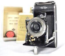 Ansco AGFA Folding Camera Captain PB20 Vintage Box Instructions Lens Attachment
