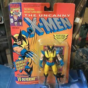 Vtg 1992 Wolverine 2nd Edition Uncanny X-Men Action Figure, Toy Biz, Unopened