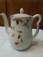 Vintage Hall China/Jewel Tea Autumn Leaf  Rayed Long-spout  Teapot (1934-1949)