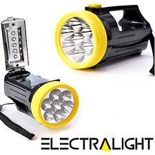 Ultra Brillante 7 +5 Led Spot Luz Lámpara Linterna & Linterna Lámpara De Trabajo Antorcha