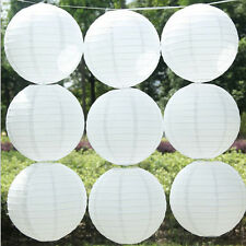 "5pcs 6"" White Color Chinese Paper Lantern Wedding Party Decoration"