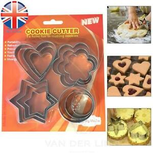 Cookie Cutter Stainless Steel Shape Cookie Cake Egg Icing Mould Mold Cutter