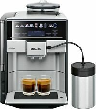 Siemens TE657F03DE EQ.6 plus extraKlasse Kaffeevollautomat - Edelstahl