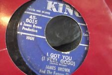 45? JAMES BROWN AND THE FABULOUS FLAMES I GOT YOU I FEEL GOOD / I CANT HELP IT