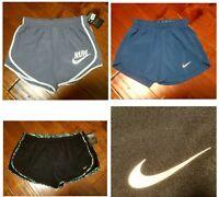 New NIKE DriFit Running Shorts Inner Brief Drawstring Women's Sizes XS S M L 3X