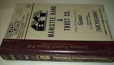 1980-81 City of Manistee County Michigan MI Polk's City Directory Phone Book