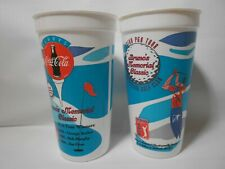 New listing Lot of 2 Vintage 1995 Bruno's Memorial Golf Classic Collector Plastic Cups 90s