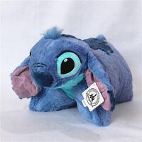 Disney Stitch Plush Pillow Plush Toy Soft Cushion Lilo & Stitch Kid's Gift
