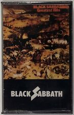 BLACK SABBATH: Greatest Hits NEMS CSL 3206 Heavy Metal Cassette Tape SEALED