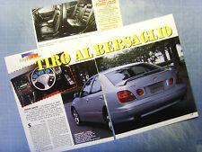 AUTO997-RITAGLIO/CLIPPING/NEWS-1997-TOYOTA ARISTO - 3 fogli