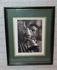 """Framed Ben Curtis Autographed Photo - 2003 British Open - 15"""" x 12"""""""
