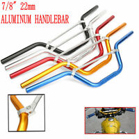 7/8'' 22MM Guidon Barre Aluminum Anodisé Moto Cross DirtPit Bike VTT Quad Enduro
