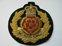 Duke of Lancasters 2015 Wire Embroidered Bullion Blazer Badge - British Army