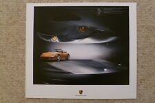 2009 Porsche Carrera Cabriolet Showroom Advertising Sales Poster RARE!! Awesome