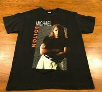 Vintage 1992 Michael Bolton Time Love Tenderness Concert Tour T Shirt Adult M/L