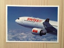 Swiss International Airlines swissair airbus a 330 a330-200 Postcard postal