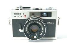 Rangefinder camera Ricoh 500 G with Rikenon 40mm 2.8 Ref. 22203