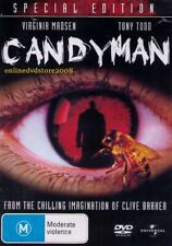 CANDYMAN (Virginia MADSEN Tony TODD Xander BERKELEY) Horror Film DVD Candy Man