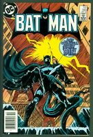 Batman #390 VF DC Comics 1985 Mandrake Cover Nocturna Appearance Newsstand Ed