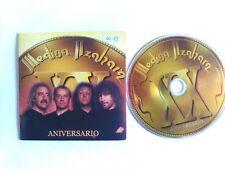 2 TRACK  CD SINGLE MEDINA AZAHARA - ANIVERSARIO - AVISPA SPAIN 2000 VG+