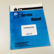 INTERNATIONAL TRACTORS HYDRAULIC SERVICE MANUAL